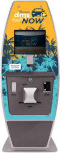 Hawaii DMV Now kiosk